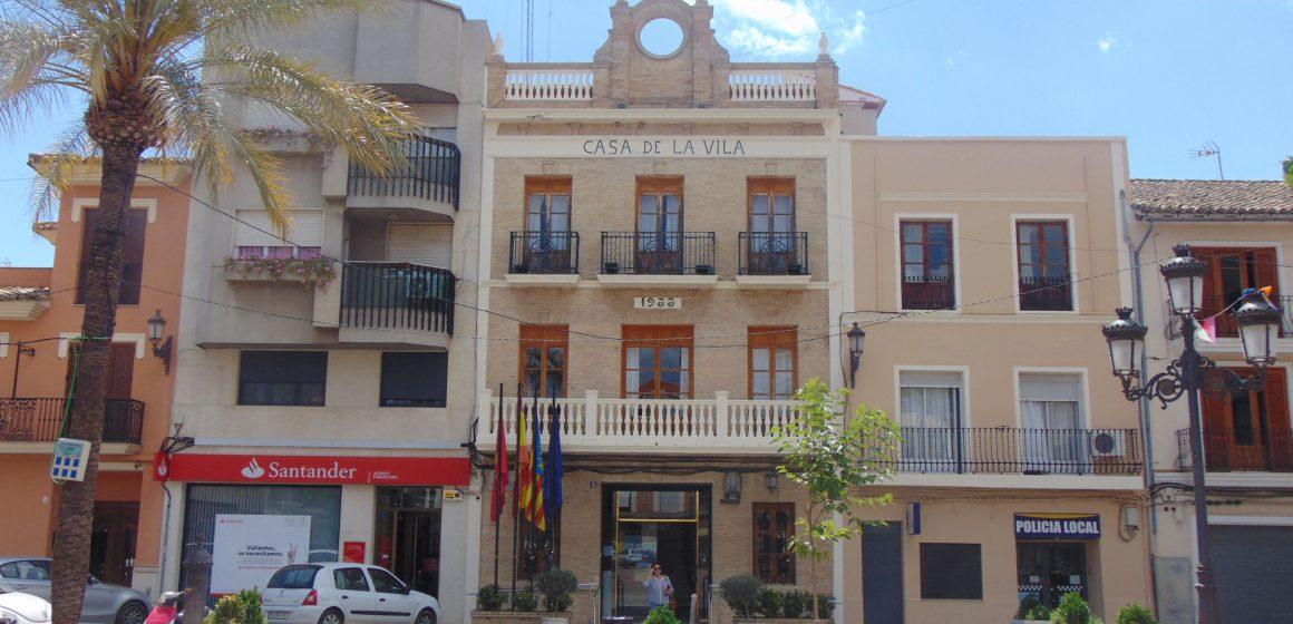 El Pressupost Municipal de L'Alcúdia de Crespins superarà en 2021 els quatre milions d'euros