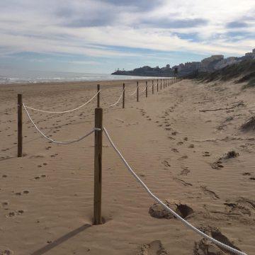 El ministeri regenerarà les platges del Marenyet i l'Estany de Cullera amb 61.000 euros