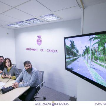 Gandia substituirà la travessia de la Nazaret-Oliva per un bulevard en 2020