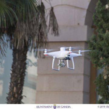 Gandia adquireix un dron per detectar infraccions urbanístiques