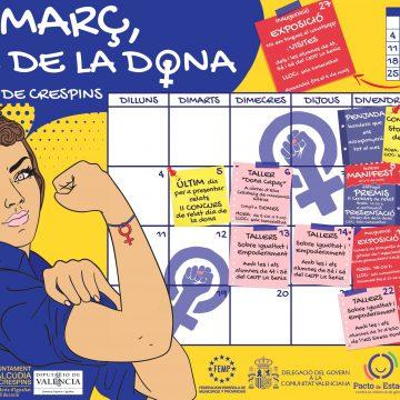 Tallers i exposicions en l'agenda cultural de L'Alcúdia de Crespins per al mes de març