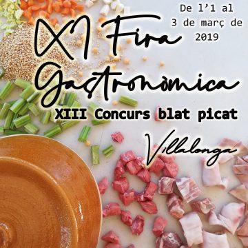 Villalonga celebra este cap de setmana la XI Fira Gastronòmica