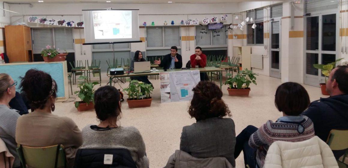 Ontinyent i el Consell inverteixen 120.000 euros en reformar el col·legi La Solana