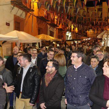 Ontinyent Medieval arranca en el pregó del Mig Any Fester, 70 llocs d'artesania al carrer i espectacles per a totes les edats