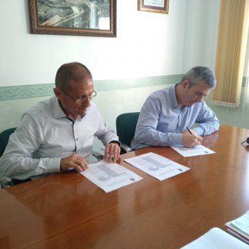 Ròtova signa un conveni de col·laboració amb el Centre de Menors Los Pinos