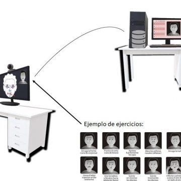 L'Hospital de Gandia i la UPV dissenyen un sistema per a estudiar les paràlisis facials