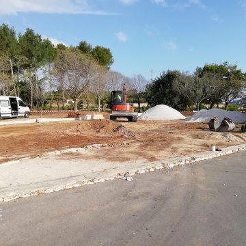 Comença la construcció del SKATEPARK de La Font d'en Carròs