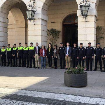 Gandia reforça la seguretat en 14 nous agents de Policia Local