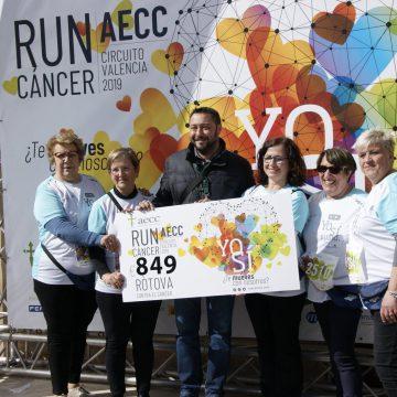 Ròtova recull més de 800 euros en la Run Càncer