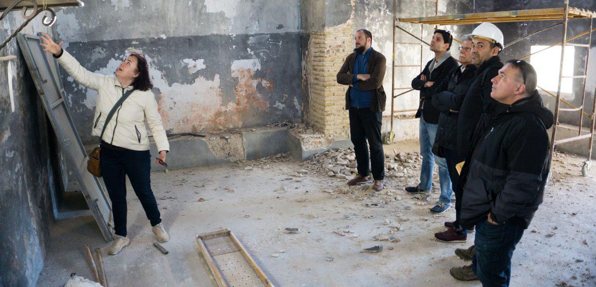 Continuen les obres en l'ermita de Sant Miquel de La Font d'en Carròs