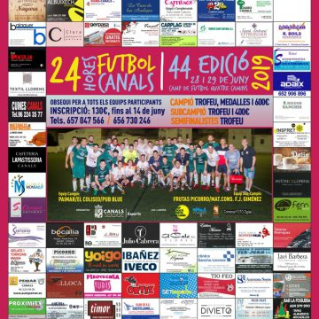 24 hores de futbol amateur en Canals
