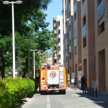 Rescaten una persona major que havia patit una caiguda en sa casa de Gandia