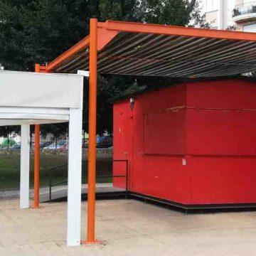 Canals obri un nou quiosc al Parc Jaume I