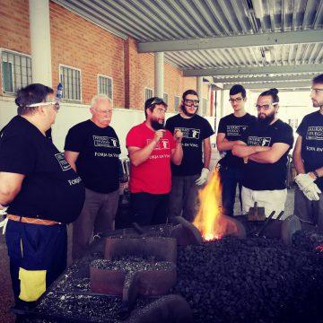 Primer curs de forja a Alcoi