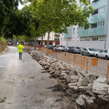 Avancen les obres de la nova via ciclista entre Cocentaina i Batoi