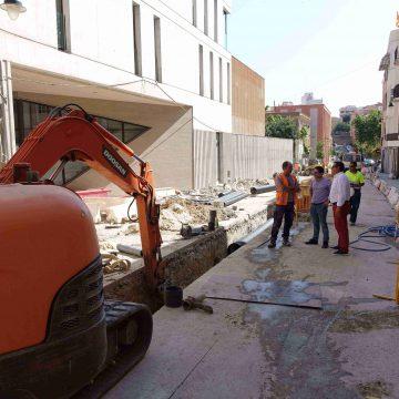 Ontinyent reurbanitza el carrer Rafael Juan Vidal amb 240.000 euros