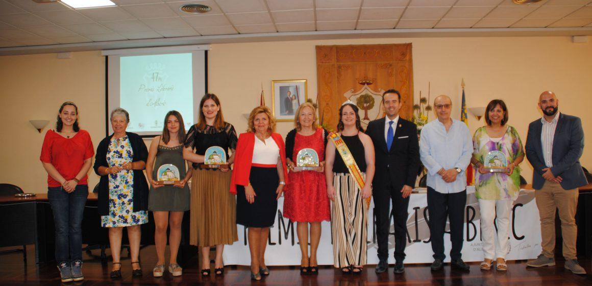 Quatre dones guanyen els Premis Literaris d'Alberic