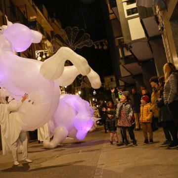 Un espectacle d'animació i llums obri la campanya de Nadal Ontinyent Il·lusiona