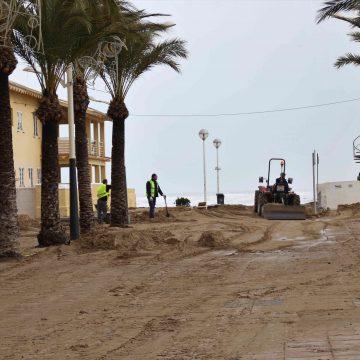 Oliva inicia la quantificació de danys de 'Glòria' per demanar la declaració de zona catastròfica