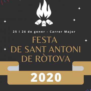 Ròtova celebra la festa de Sant Antoni