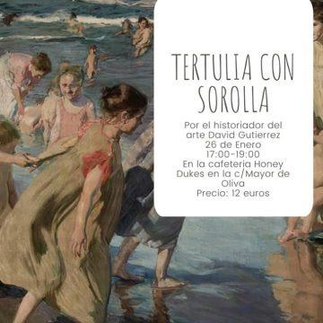 L'historiador DavidGutierrezparla de l'obra de Sorolla en Oliva