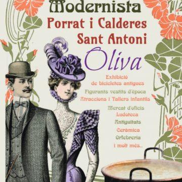 Oliva tindrà una Fira Modernista en la celebració de les calderetes de Sant Antoni