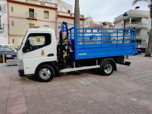 La Font d'en Carròs adquireix un camió per a la brigada d'obres