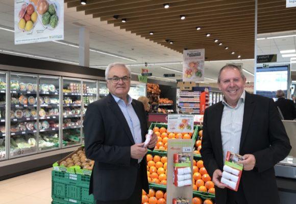 Masymas i Rolser posen a la disposició dels clients bosses reutilitzables per a les fruites i verdures