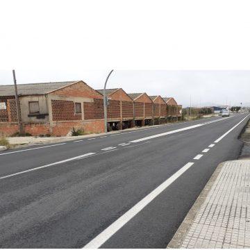 Milloren l'accés a Oliva en la carretera de Pego