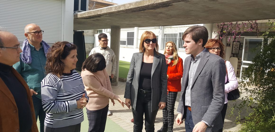 El director general d'Infraestructures de Serveis Socials visita Xàtiva