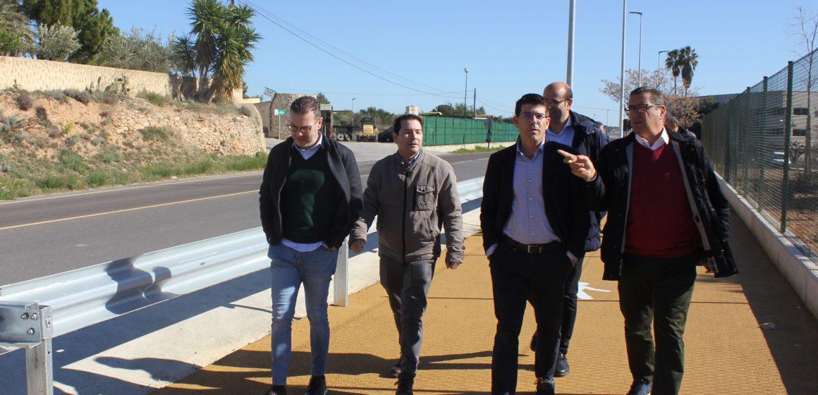 Ontinyent planeja una nova inversió de 550.000 euros per seguir modernitzant els polígons industrials
