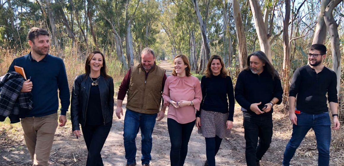 La vicepresidenta de la Diputació de València visita Xeresa per tractar la problemàtica de la Marjal
