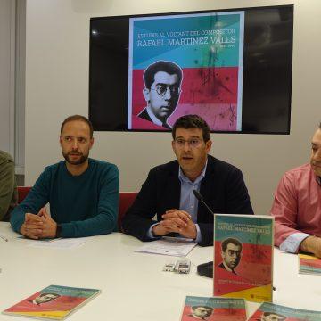 Ontinyent tanca el Centenari de l'Himne editant un llibre al voltant del músic Martínez Valls
