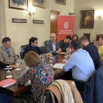 Ajuntaments de la línia C2 de Rodalies es reuneixen en Carcaixent per buscar solucions