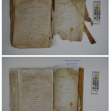 L'Arxiu Municipal d'Alcoi restaura dos dels seus documents més antics