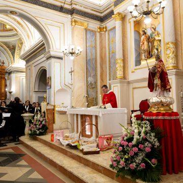 Sant Blai a Potries: Missa, berenar i concert d'Art of Brass