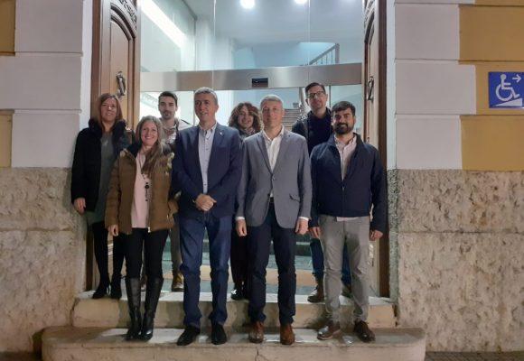 El conseller d'Economia i Sectors Productius visita Oliva