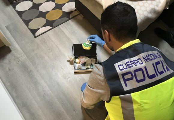 Tres detencions per tràfic de drogues en Gandia en menys d'una setmana