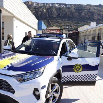 La Policia de Cullera llançarà missatges de precaució i advertència amb un nou vehicle