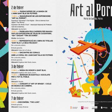 Música, titelles i exposicions obrin el Porrat de Potries