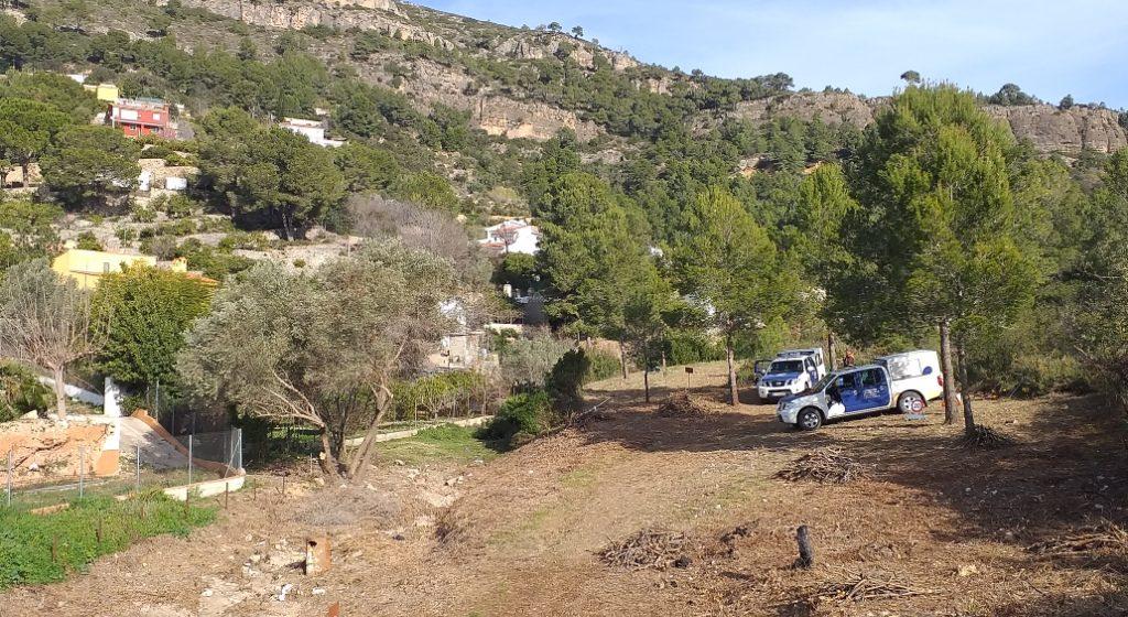 Finalitzen les obres a les pistes forestals de la Murta i la Casella