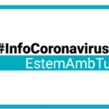 Oliva recull en una web tota la informació oficial sobre el coronavirus
