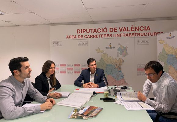 La Diputació de València licita les obres de millora de la carretera CV-670 (Oliva-Piles)