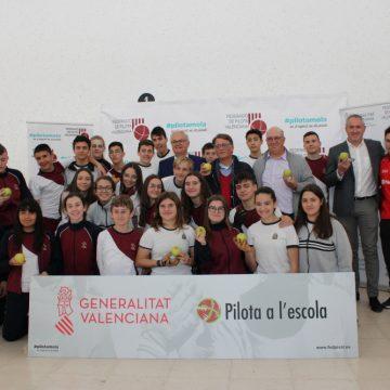 El programa «Pilota a l'Escola» visita Xeraco
