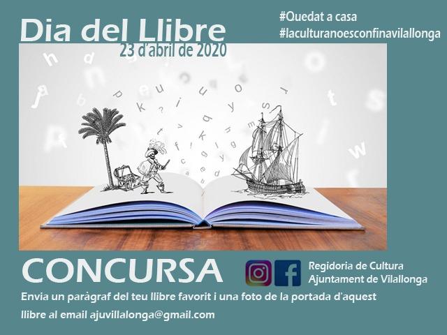 Vilallonga celebra el Dia del Llibre amb un concurs literari