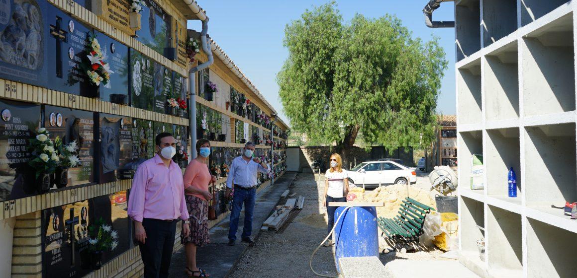 Albaida inverteix 42.000 € en la millora del Cementeri Municipal