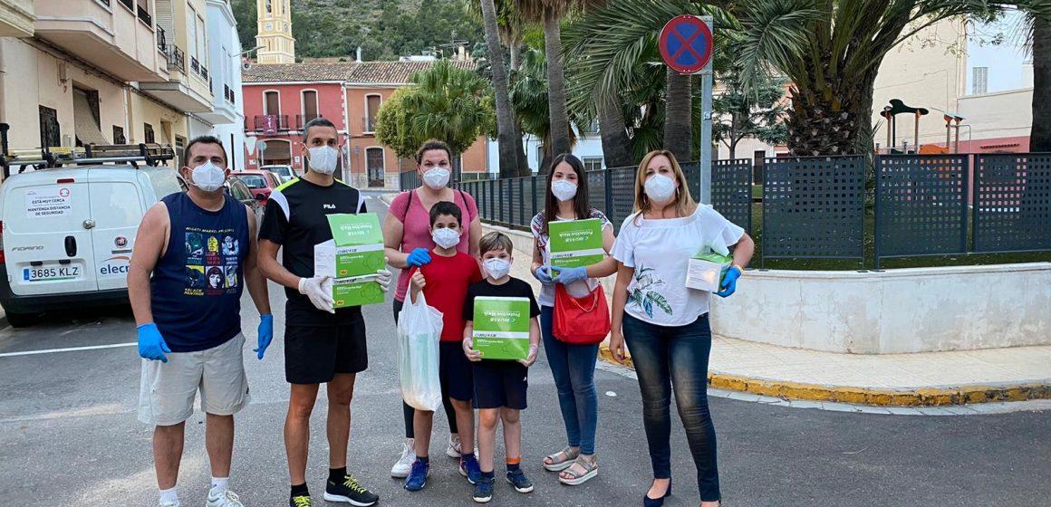 El Govern de Palma reparteix 5.500 mascaretes durant l'estat d'alarma