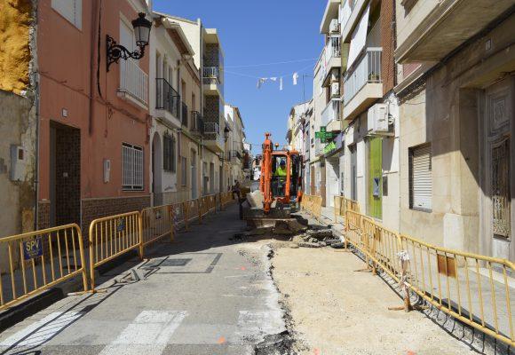 Comença la peatonalització del Carrer Major de Miramar