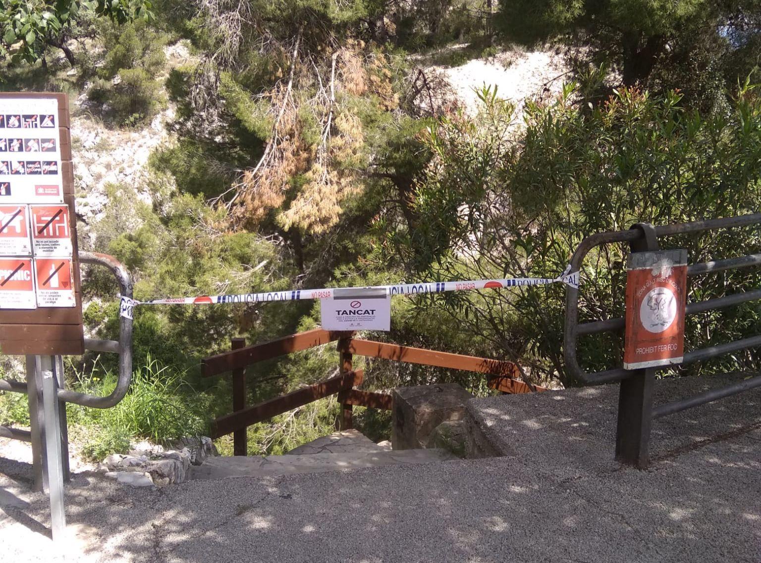 Ontinyent mantindrà tancat els pàrkings d'accés al Pou Clar durant tot l'estiu