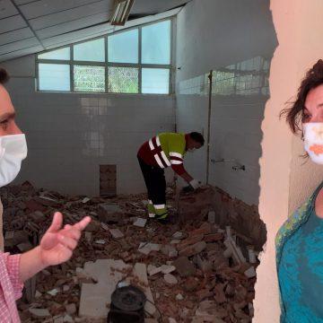 Ontinyent inicia les obres del CEIP Lluís Vives i trau a licitació les obres del CEIP La Solana